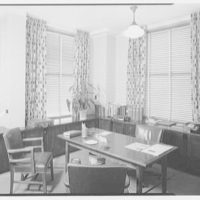 Burson and Marstellar, 220 E. 42nd St., New York City. Harold Burson's office