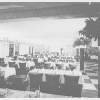 Candlelight Restaurant, Central Ave., Yonkers, New York. Garden room