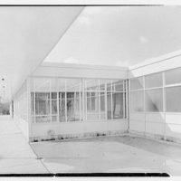 Grout Park School, Hamburg St., Schenectady, New York. Detail, south facade