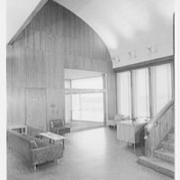 New Jersey Turnpike, administration building. Lobby IV