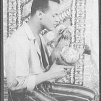 [Portrait of Harry Belafonte, in Almanac]