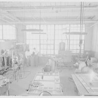 R.E.F., Jericho Turnpike, Mineola, Long Island. Welding department