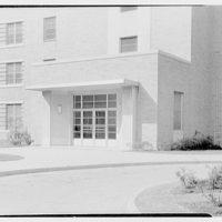 St. Albans Naval Hospital, Jamaica, New York. Entrance door