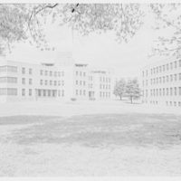 St. Albans Naval Hospital, Jamaica, New York. Rear general view