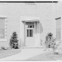 St. Albans Naval Hospital, Jamaica, New York. Small door