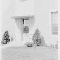 St. Albans Naval Hospital, Jamaica, New York. Small door at south