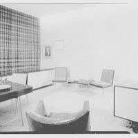 Van Heusen Shirts, 417 5th Ave., New York. Mr. Smulyen Jr.'s office, view to wall