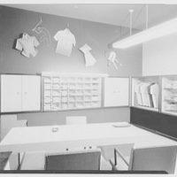 Van Heusen Shirts, 417 5th Ave., New York. Sample room