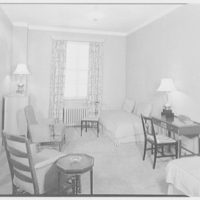 Westchester Country Club, Rye, New York. Room 615, bedroom