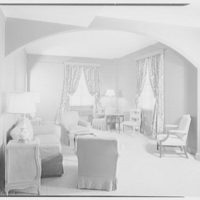 Westchester Country Club, Rye, New York. Room 615, living room