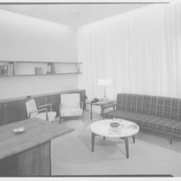 Becton Dickinson, Rutherford, New Jersey. Mr. Becton's office II