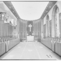 Brick Presbyterian Church, Park Ave. and 91st St., New York City. Chapel, to chancel