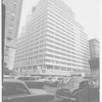 Colgate Palmolive Building, Park Ave., New York City. Construction detail I