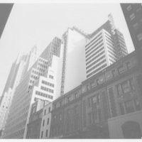 Colgate Palmolive Building, Park Ave., New York City. Construction detail II