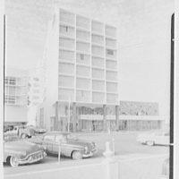 Di Lido Hotel, Collins Ave. and Lincoln Rd., Miami Beach, Florida. Exterior
