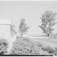Fairchild Aircraft, Hagerstown, Maryland. View to entrance, sharp from south I