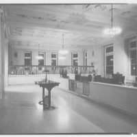 First National City Bank, 42nd St. and Madison Ave. Interior VIII