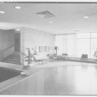 General Chemical Co., Morristown, New Jersey. Lobby, to stairway
