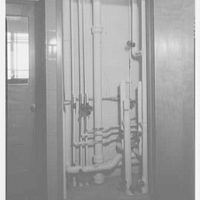 General Chemical Co., Morristown, New Jersey. Utilities closet