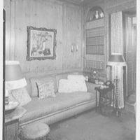 George G. Frelinghuysen, residence at 141 E. 72nd St., New York City. Den