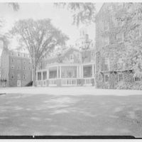 Hotel Otesaga, Cooperstown, New York. Lake facade from left