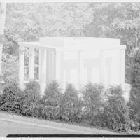 Lasker Mausoleum, Sleepy Hollow Cemetery, N. Tarrytown, New York. Exterior II
