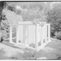 Lasker Mausoleum, Sleepy Hollow Cemetery, N. Tarrytown, New York. Exterior III