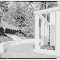 Lasker Mausoleum, Sleepy Hollow Cemetery, N. Tarrytown, New York. Exterior VI