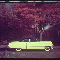 Miscellaneous subjects. 1955 Cadillac