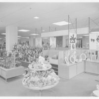 Rich's department store, business in Knoxville, Tennessee. Artificial flowers