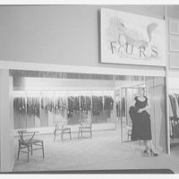 Rich's department store, business in Knoxville, Tennessee. Furs