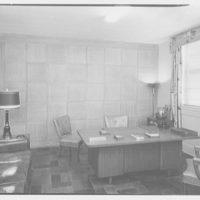 Roslyn Savings Bank, Roslyn, Long Island. President's office
