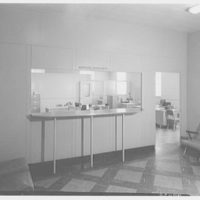 Roslyn Savings Bank, Roslyn, Long Island. Rear room, mortgage department