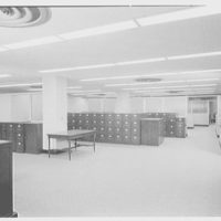 Seamen's Bank for Savings, 30 Wall St., New York City. 5th floor file cases