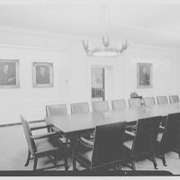 Seamen's Bank for Savings, 30 Wall St., New York City. Boardroom IV