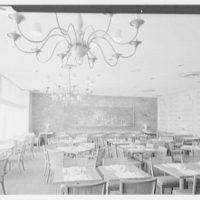 Stouffer's restaurant, Lancaster Ave., Philadelphia. Afternoon shot of Independence Room