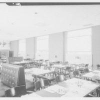 Stouffer's restaurant, Lancaster Ave., Philadelphia. Devin Room, to glass panels