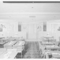 Stouffer's restaurant, Lancaster Ave., Philadelphia. Lancaster Room, to hall