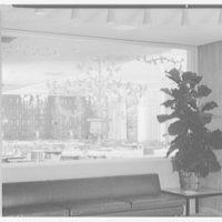 Stouffer's restaurant, Lancaster Ave., Philadelphia. Lobby, to Lancaster Room (detail II)