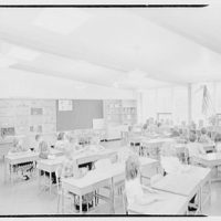 The Country School, Weston, Massachusetts. Classroom, third grade II