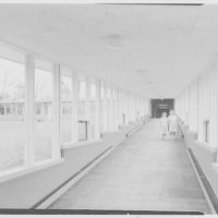 The Country School, Weston, Massachusetts. Ramp