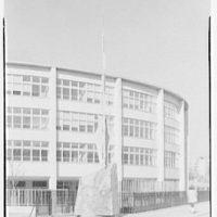 Wingate High School, Kingston Ave., Brooklyn, New York. Gwen Lux statue II