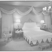 Abe Frankel, residence at 22 Auerbach Rd., Lawrence, Long Island. Bedroom