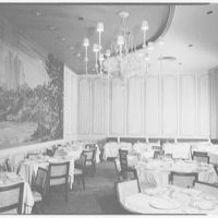 Essex House, W. 59th St., New York City. Mural and paneling