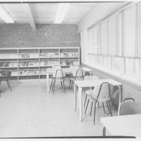 Fairleigh Dickinson College Library, Rutherford, New Jersey. Magazine room