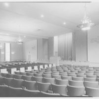 First Church of Christ Scientist, 8601 35th Ave., Jackson Heights. Interior I, chandeliers on