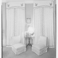 Harold Bache, residence at 812 Park Ave. Bedroom