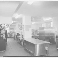 Lamont Hall, Smith College, Northampton, Massachusetts. Main kitchen