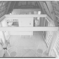 Miss Betty Reese, residence in Bridgehampton, Long Island. View from above