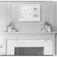 Mrs. M. Rothenberg, residence at 62 Birchall Rd., Scarsdale. Mantel